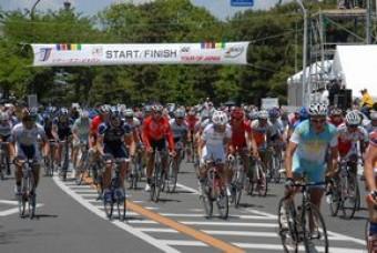 自転車ロードレース「堺国際 ...