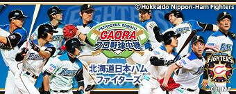 GAORAプロ野球中継(ファイターズ...